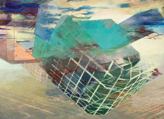 Christoph Kern's NeXt, Eggtempera/Oil-Pigments on canvas, 2014.   Tela de Christoph Kern, 2015.