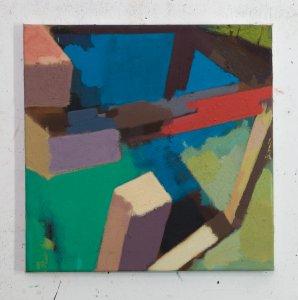 40 x 40 cm, Eggtempera,Oil/Pigment, 2017