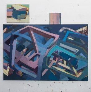 120x160cm, Eggtempera/Oil, 2017